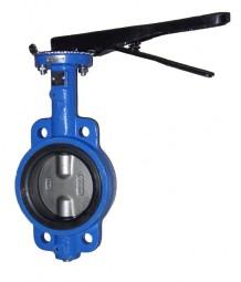 Zwischenflanschabsperrklappe mit Zentrieraugen, DN 300